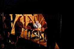 Das Blackhat Panel 2012 in einer alten Holzhütte - urig! :-)