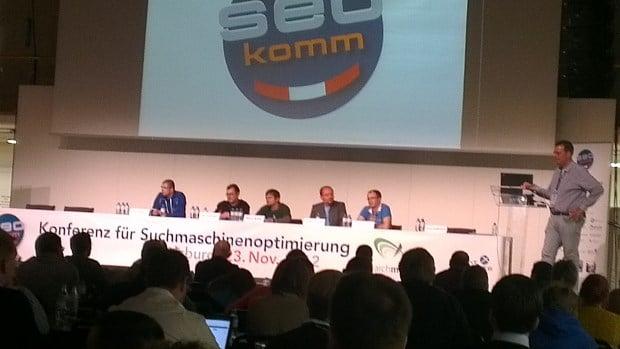 Diskussion mit Uli Lutz (Google) auf der Seokomm 2012