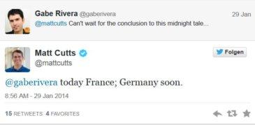 """Matt Cutts: """"Germany soon"""" – Linknetzwerke vor dem Aus?"""