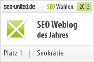 Bester SEO Blog Platz 1