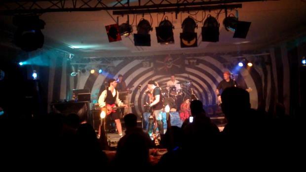 Die Band am Abend