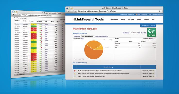 LinkresearchTools screener