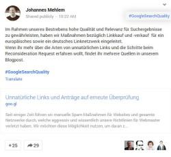 google-abstrafung