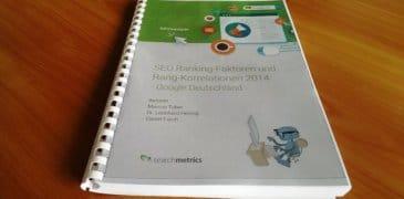 Searchmetrics Ranking Faktoren 2014: Onpage und Content