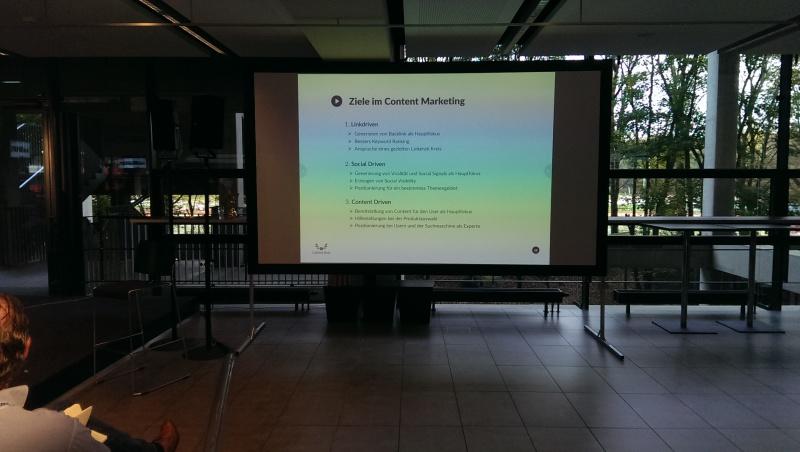 content marketing ziele