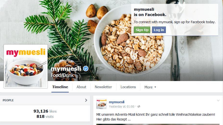 mymuesli facebook likes