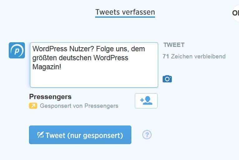 wordpress nutzer