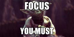 keyword focus you must
