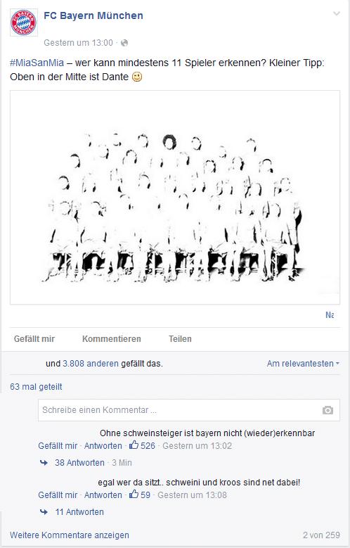Facebook Post Trigger