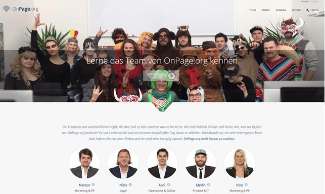 Team von Onpage.org
