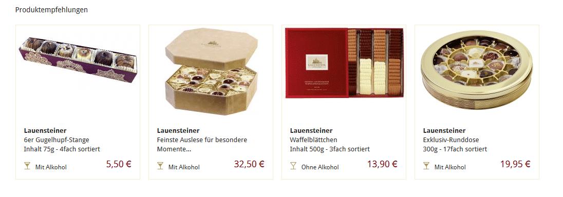 Produktvorschläge mit vergleichbaren Angeboten