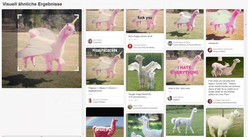 Visuell ähnliche Ergebnisse auf Pinterest.