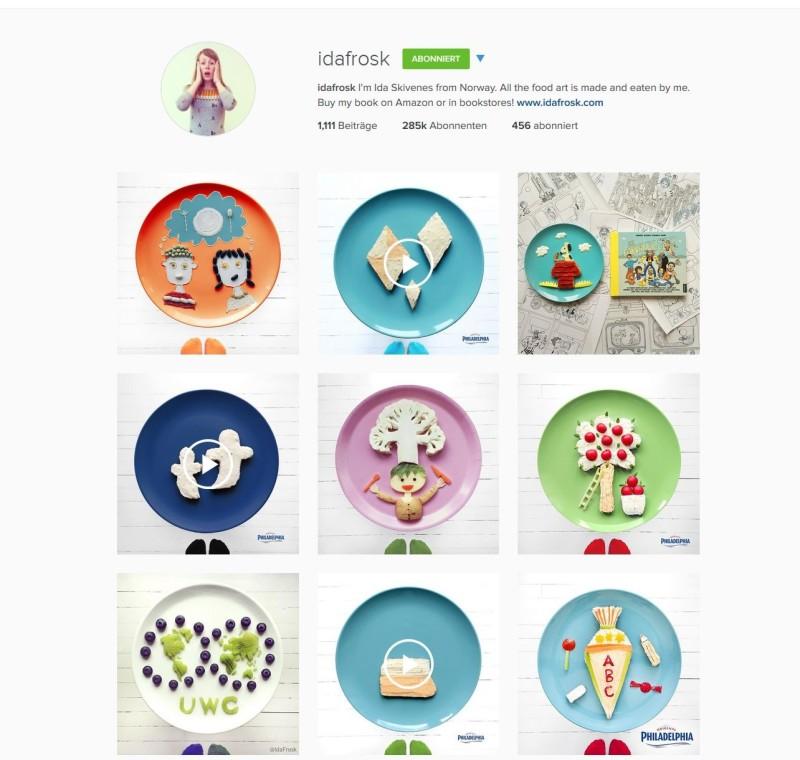Instagram Account von Idafrosk: Bunte Bilder aus Essen.
