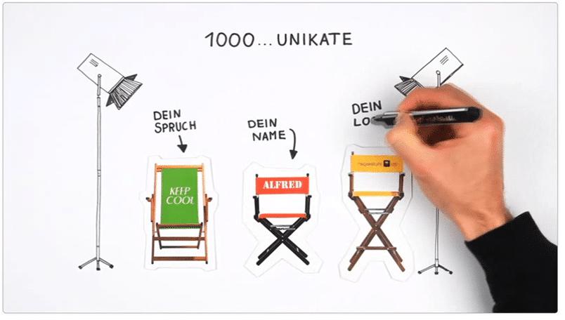 Intro-Video auf der Startseite von regiestuhl.de