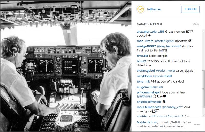 Beispiel Lufthansa