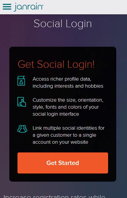 großer mobiloptimierter Button