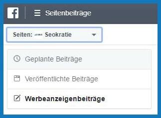Seitenbeiträge-Beitrag-planen-Menü-links