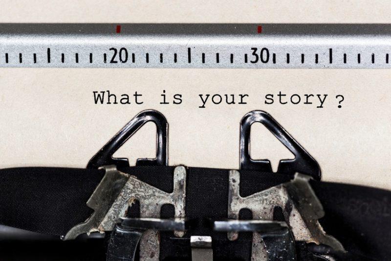 Schreibmaschine: Gute Stories braucht das Marketing