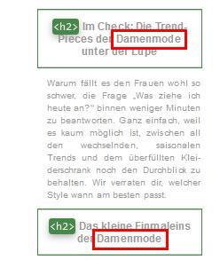 Zalando-Sidebar-Ueberschriften