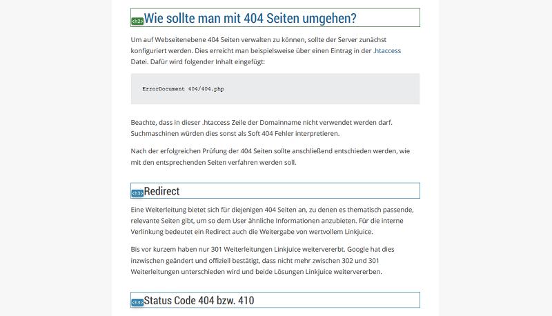 onpage-content-ueberschriften