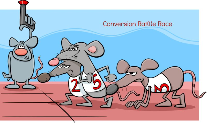 conversion rate_rat race