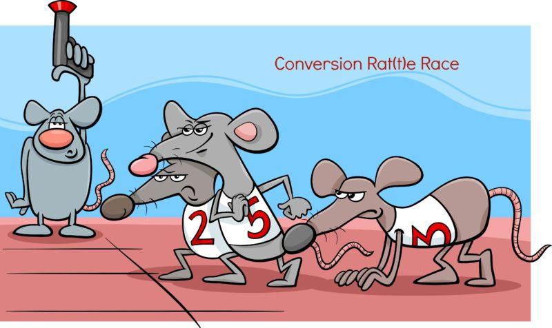 conversion rate_rat race