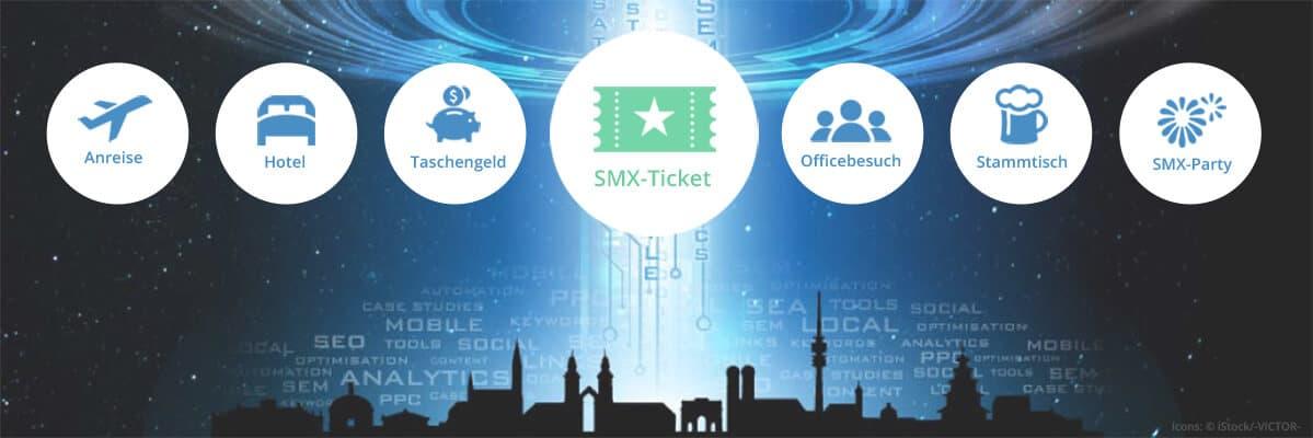 Mit Seokraite zur SMX: Gewinn Ticket, Anreise, Hotel und Co.