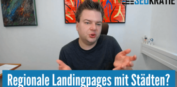 Video: Regionale Landingpages – wie aufbauen?