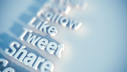 Social Media Keywords- Like, Tweet, Share