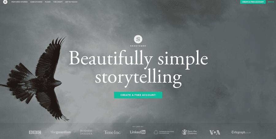 Mit Shorthand digitales Storytelling betreiben