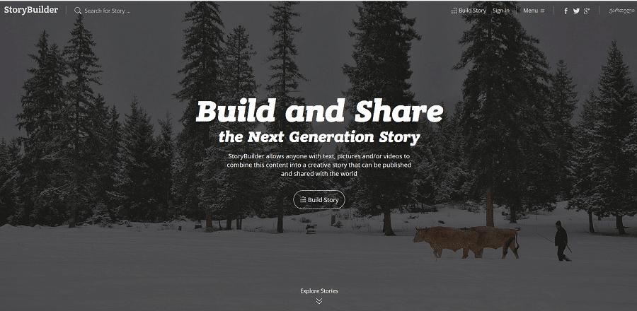 Clean und Open Source: StoryBuilder