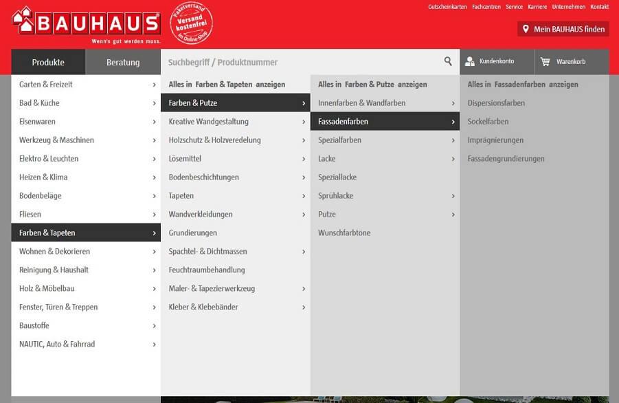 Website-Navigation: Tipps & Beispiele für Deinen Online-Shop
