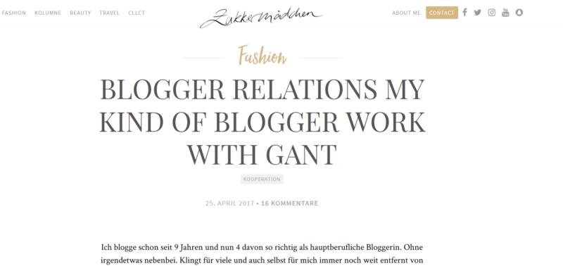 beispiel blogger relations-zukkermädchen