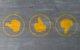 Icons dreier Daumen