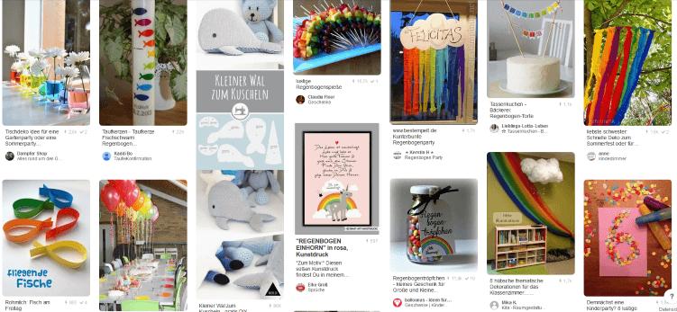 Suchergebnisse zu Regebogendekoration auf Pinterest.