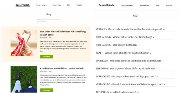 besserfleisch.de-blog und faq