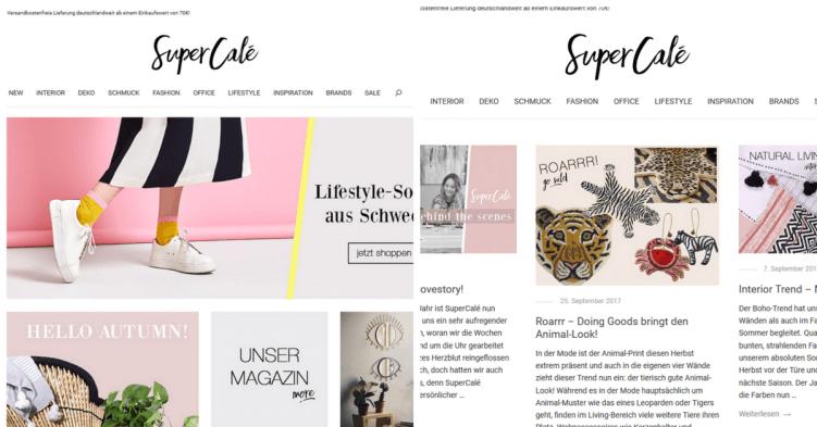 supercale_online shop und magazin