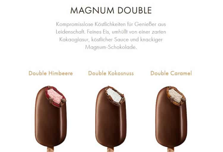 Landingpage-Text zu Magnum Double