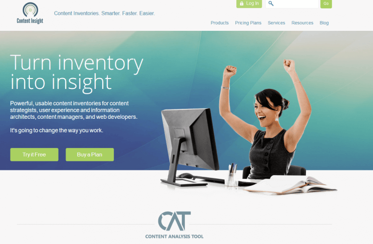 cat-content inventory-marketing tool