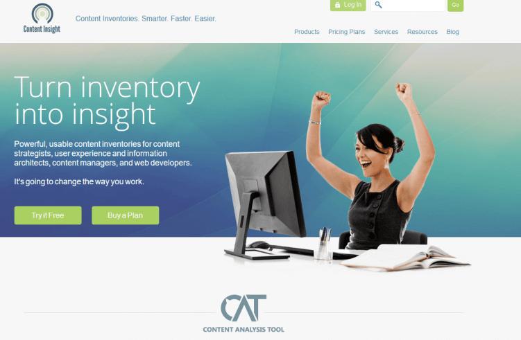 cat-content inventory-marketing tool