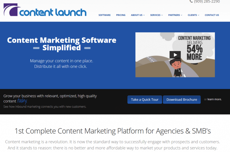 content launch-content-marketing-tool