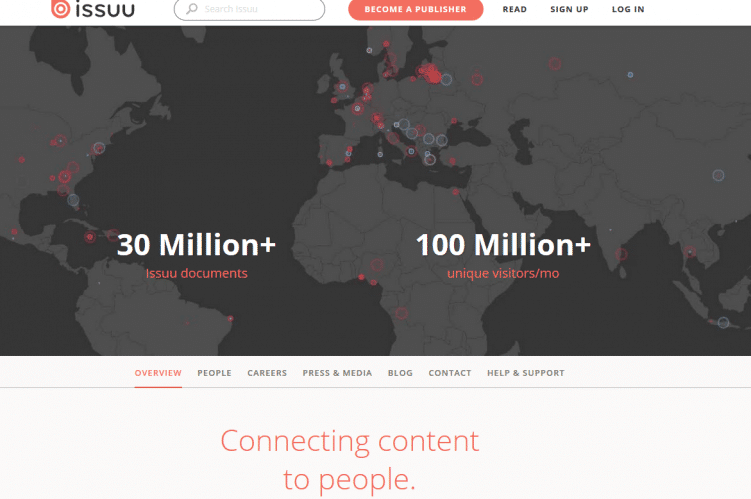 issuu-content-marketing-tool