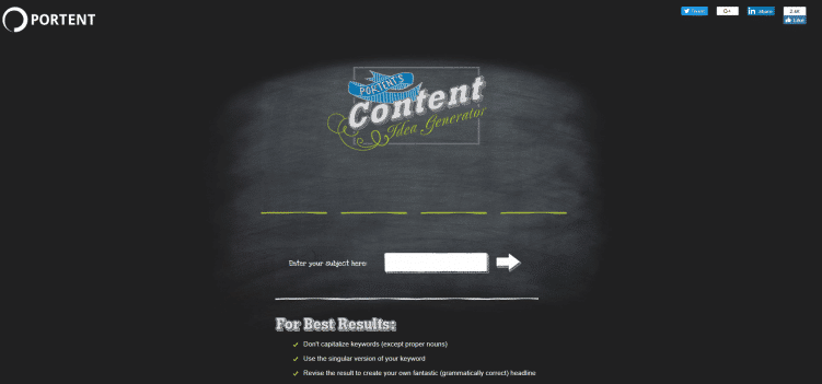 portent-content-marketing-tool
