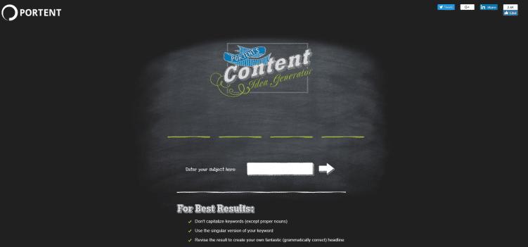 portent-content-marketing-tool