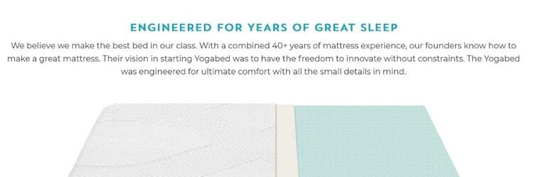Storytelling auf der Produktseite von marpac.com