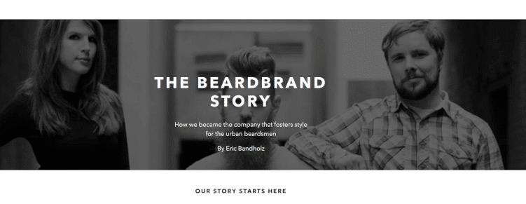 Die Story von BeardBrand