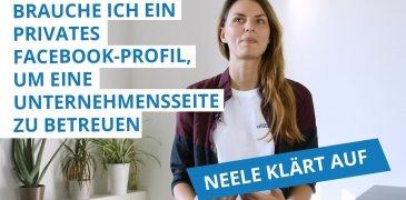 Video: Brauche ich ein privates Facebook-Profil, um eine Unternehmensseite zu betreuen?