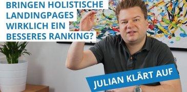 Video: Bringen holistische Landingpages ein gutes Ranking?