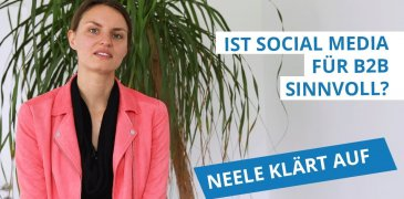 Video: Ist Social Media Marketing für B2B sinnvoll?