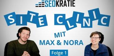 Video: Siteclinic #1: Webseiten-Check und SEO-Tipps
